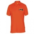 PLAYERA UNIFORME COLOR NARANJA ESTEVC TM LOGO COLORES