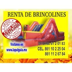 BRINCOLIN CON ESCALADORA (RENTA)